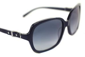 a5b7c180390 JIMMY CHOO LELA 807 Ladies Women Square Buckle Sunglasses BLACK ...
