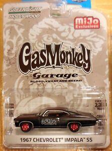 2017 Greenlight M J Exclusive Gas Monkey 1967 Impala Ss 2300 Made Ebay