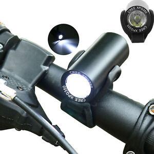 Lampe frontale USB rechargeable XPG LED étanche 4 modes pour vélos avant