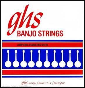 GHS Strings 190 4-String Plectrum Banjo Set Light Gauge Stainless Steel