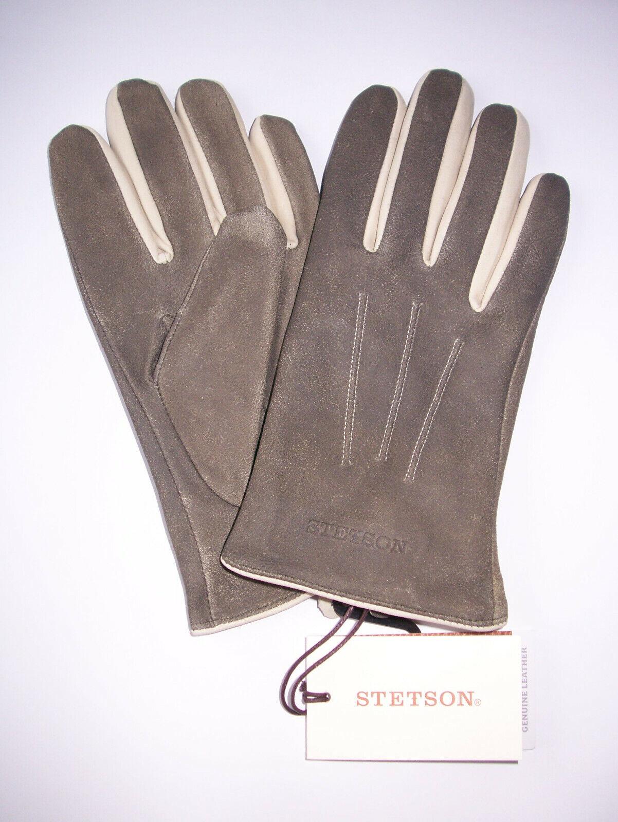 """Exklusive STETSON Lederhandschuhe """"Gloves Lamb"""" Gr. XL"""