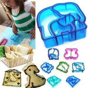 Kids Lunch Sandwich Toast Cookies Cake Bread Biscuit Food Cutter Mold Mould A9E4