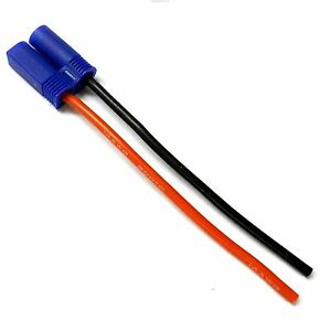 Candide Ec5bm14-10 Rc Masculin Compatible Ec5 Prise Connecteur De Batterie Fil 14awg