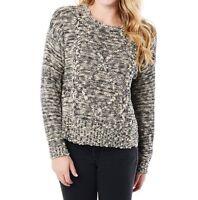 $64 Roxy Women's Yesterday's Over Fisherman Sweater Size M
