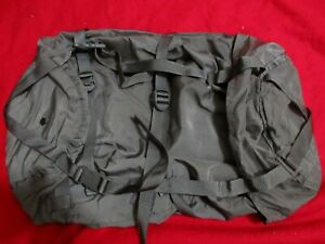 US-ARMY-MSS-SLEEPING-BAG-COMPRESSION-STUFF-SACK-GRAY-LARGE-6-STRAPS-EXCELLENT