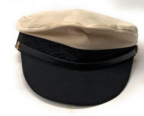 Abercrombie & Fitch Mens Vintage Cap Hat Captain X