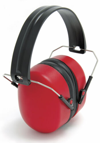 Blackrock Red Folding Ear Defenders Safety Defence SNR 30db Decibel 7210300