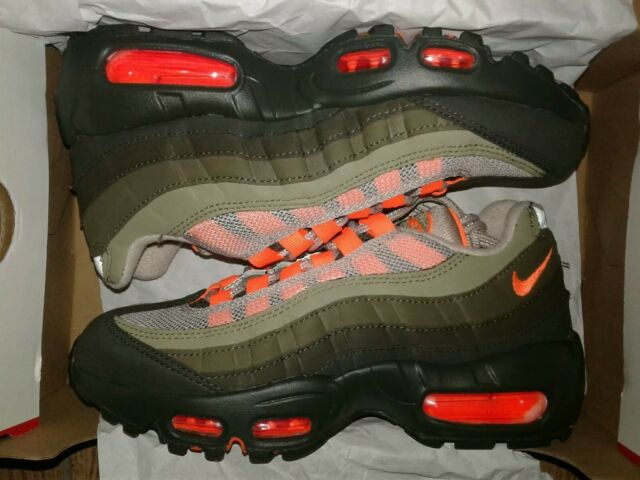 sale retailer e6277 6d939 Og At2865 200 String Nike Olive Size 95 Orange Neutral Total Air Max ARLj54