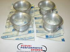XR69 Wes Cooley Mikuni RS flatslide genuine bellmouths. set 4.