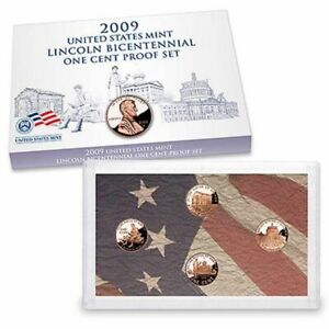 2009-S-Lincoln-Bicentennial-One-Cent-Proof-Set-U-S-Mint-Box-amp-COA-Complete