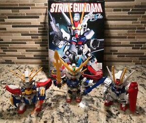 Tous les 3 Strike Gundam Figurines japonaises Anima Robot Guerrier