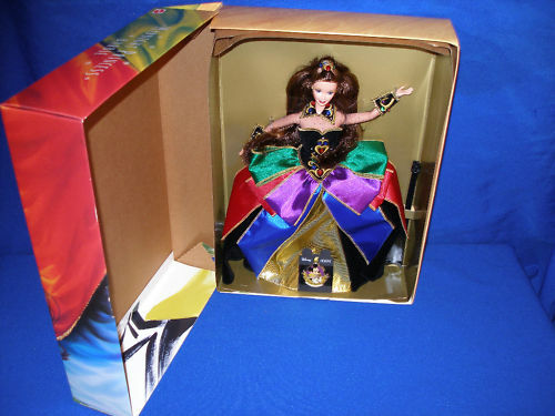 1997 MIDNIGHT PRINCESS BABIE BRUNETTE CONVENTION DOLL