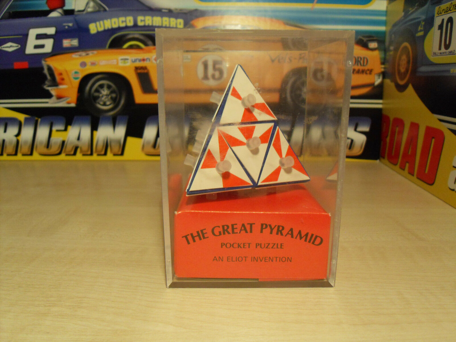 The Great Pyramid Puzzle Game - Dated 1981 - Excellent Boxed Condition.