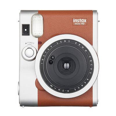 Fujifilm Instax Mini 90 Instant Camera - Brown