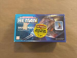 1989 MOTU He-Man New Adventures SHUTTLE POD W/Box Masters Of The Universe