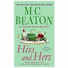 Hiss and Hers (Agatha Raisin)-ExLibrary