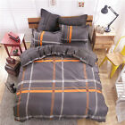 Comfort FitCA Queen King Size Bed Set Pillowcase Quilt Duvet Cover Bed