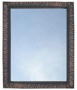 Bathroom Mirror Vanity Rectangule Framed Wall Mirror Oil Rubbed Bronze Ebay