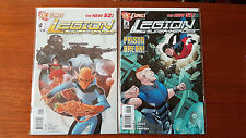 Legion of Superheroes 1 and 2  VF+/NM DC COMICS
