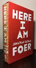 *** SIGNED *** HERE I AM by Jonathan Safran Foer ~ 1st/1st ~ INDIESPENSABLE