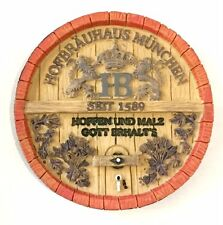 HB Hofbräuhaus Beer Brewery München Munich Germany Barrel Lid Souvenir Magnet