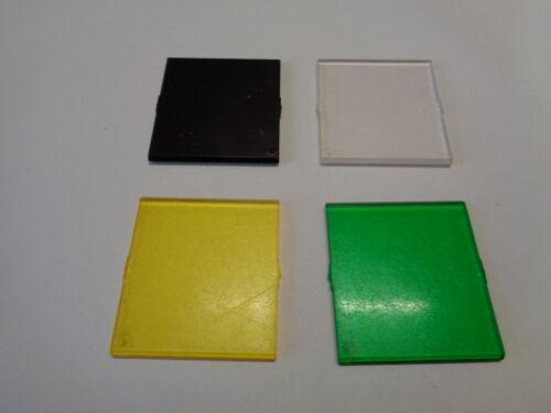 LEGO Vitre Glass pour Fenetre Windows 4x4 Roof (4448) choose color