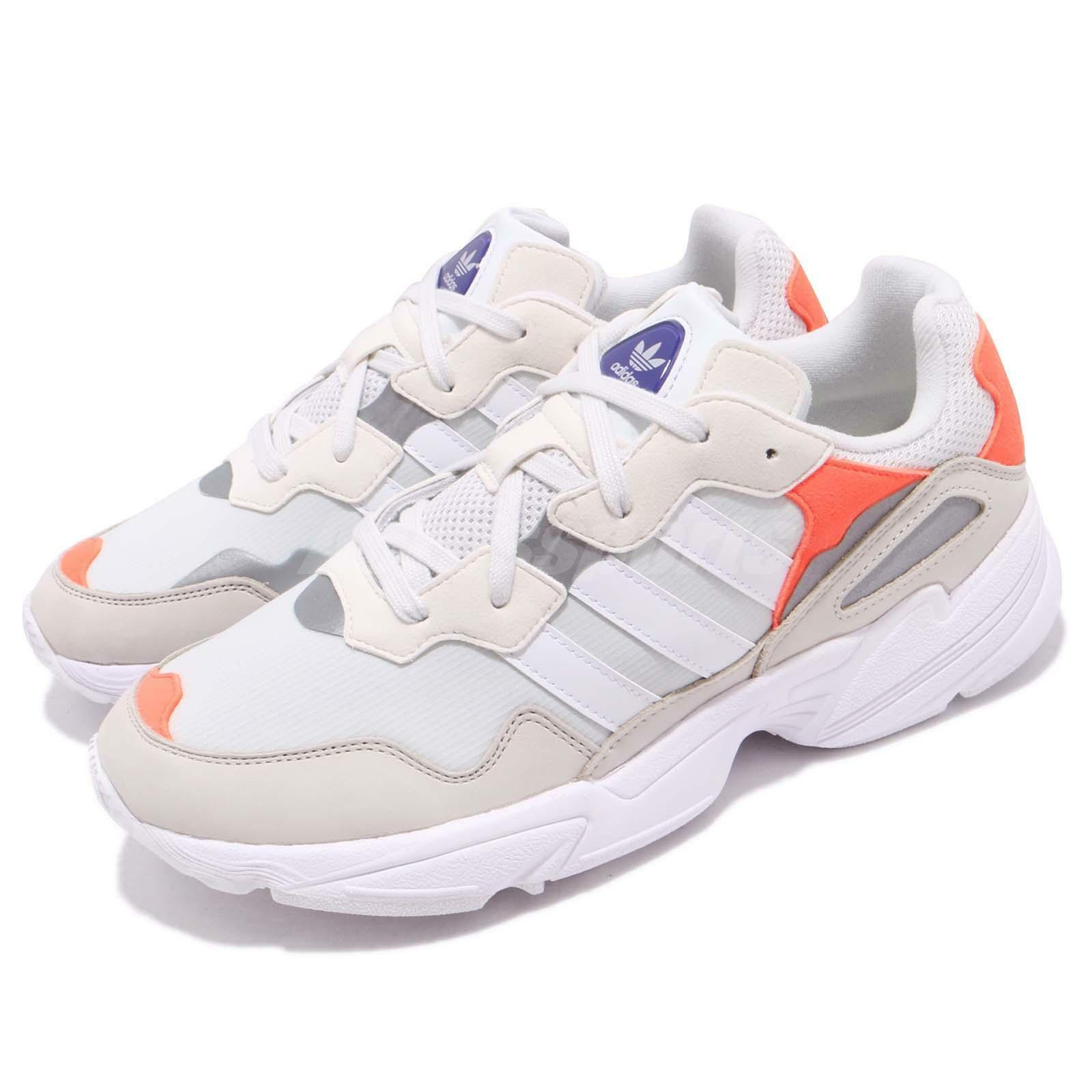 Adidas Adidas Adidas Originals Yung-96 White orange Men Running Daddy shoes Sneakers F97179 93d721