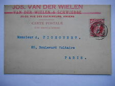 "CPA ""Jos. Van Der Wielen & Schwiebbe - Anvers"""