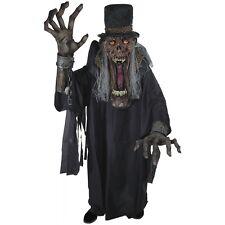 Undertaker Ghoul Creature Reacher Costume Scary Monster Halloween Fancy Dress