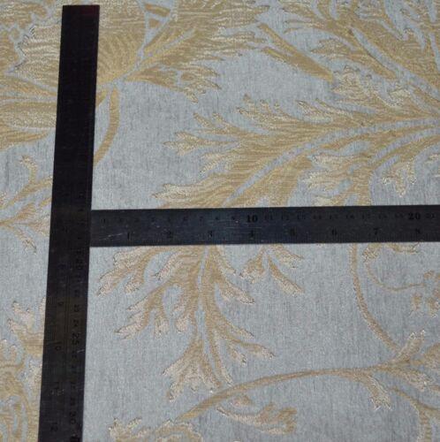 We102g Gray Tan Damask Flower Chenille Throw Bolster Cover Yoga Neck Roll Case