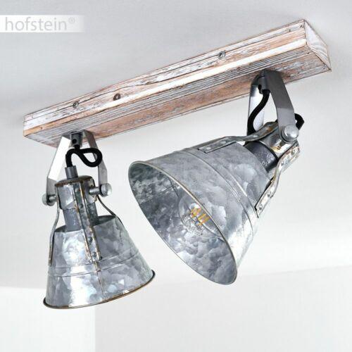 Zink Wohn Schlaf Zimmer Beleuchtung 2-flammig Decken Lampen Retro Flur Strahler