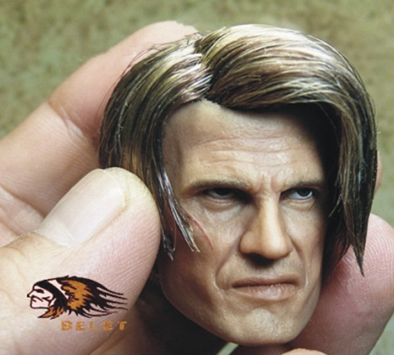 1 6 Scale Scale Scale Accessories The Expendables 3 Dolph Lundgren Head Carving Head Sculpt f85921