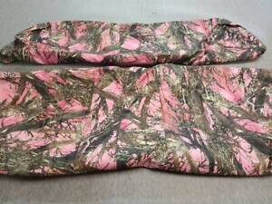 John Deere Gator Bench Seat Covers XUV 625i in Camo /& Black or 45 Colors
