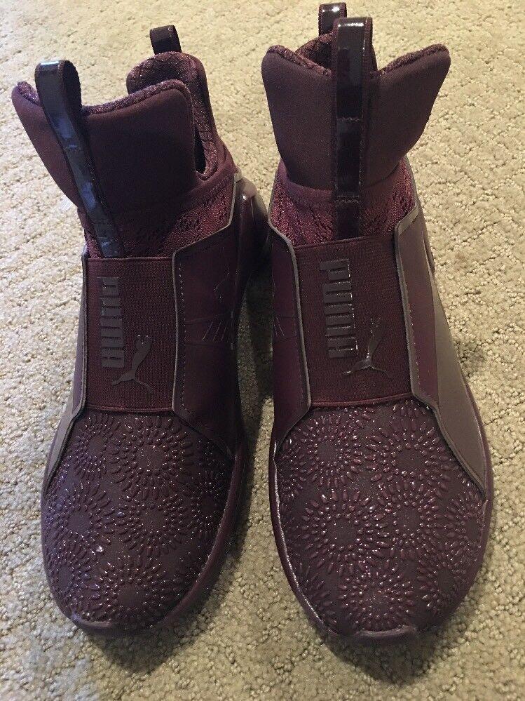 Puma feroce kurim donne formazione scarpe 189866 02 degustazione red plum 8