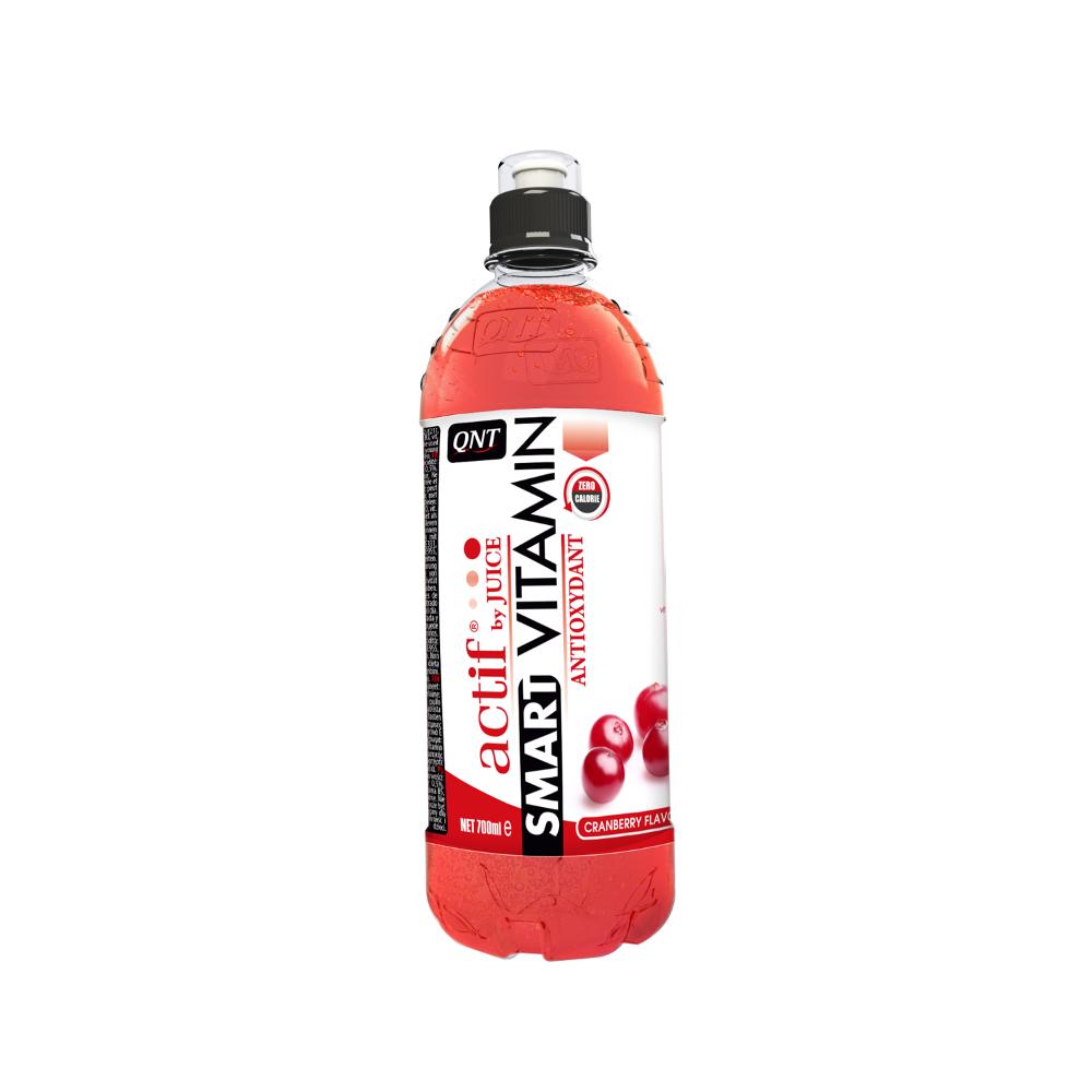 ( /1kg) QNT Smart Vitamin 24x700ml; 24x700ml; Vitamin Cranberry Energiedrink Null Kalorien 7209b6