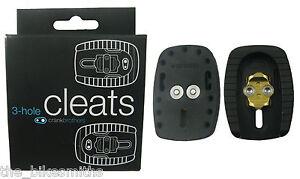 7aafa018a2f Crank Brothers Quattro 3-Hole Road Bike Cleats fits Eggbeater Candy ...
