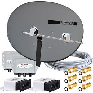 4-TV-MAXIMUM-E-85-voreingestellte-Anlage-TURKSAT-ASTRA-Quad-LNB-0-1-dB-HQ