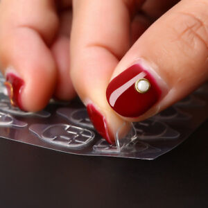 Double-Side-Adhesive-Tape-Glue-Clear-Stickers-Nail-Art-Duo-Tabs-Nails-Guard-Tips