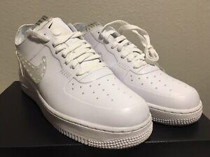 best website 4d612 4e93e Details about Nike Air Force 1 NCXL Noise Cancelling Low White/White  CI5766-110 Men's Size