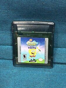 Nintendo-GameBoy-Color-Spongebob-Squarepants-Lost-Spatula-video-game