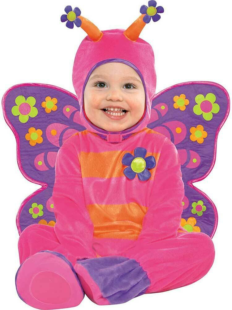 Flutterby Butterfly Baby Toddler Infant Fancy Dress Costume Age 6-24 Months