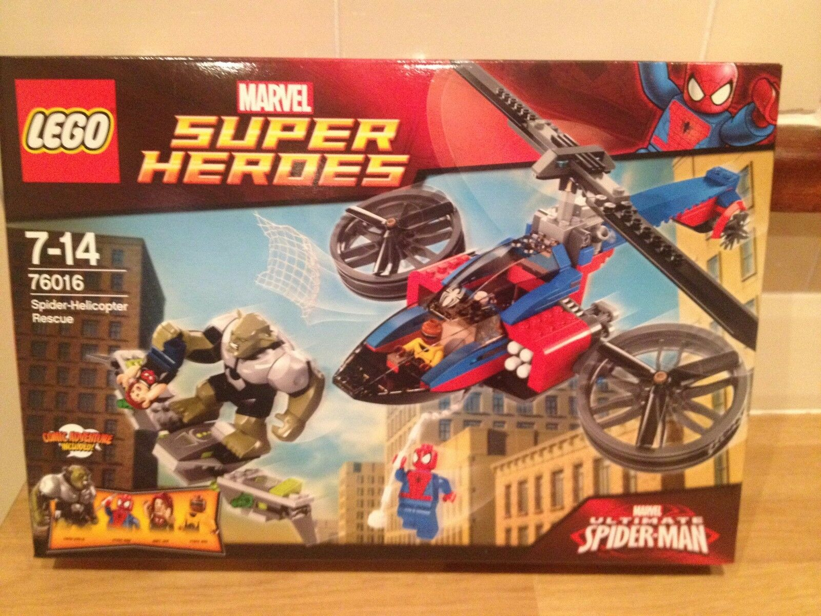 LEGO  Helicopter Spiderman 76016 Spider Helicopter  Rescue Brand new,factory sealed 33dbeb