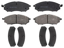 ACDelco 17D1802CH Professional Ceramic Front Disc Brake Pad Set