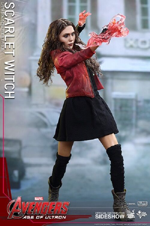 1/6 Avengers Age of Ultron Scarlet Scarlet Scarlet Witch MMS Hot Toys 902440 Used JC ebe39a