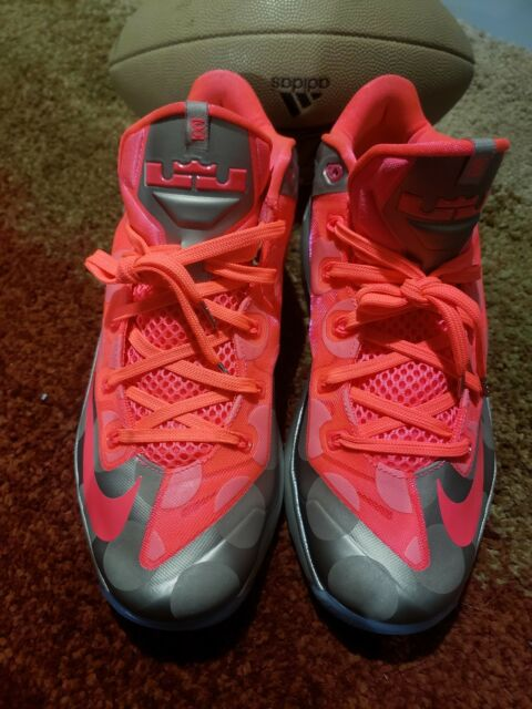 aa61e4fb8fdf Nike Lebron 11 XI Low Maison Du Collection 683256-064 Polka Dots Metallic.