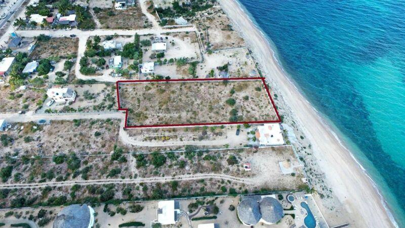 TERRENO Frente de playa Isla Cerralvo DESARROLLADORES