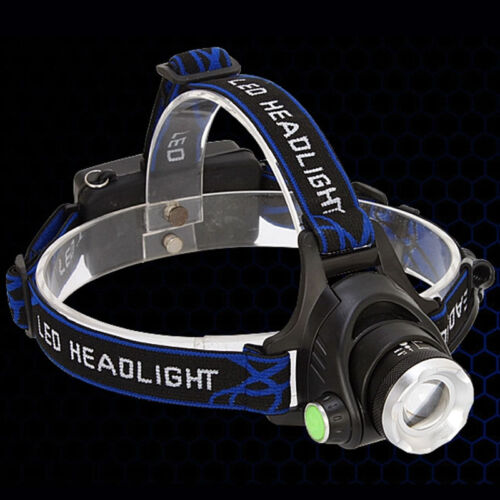 Zoomable CREE XM-L T6 LED Focus Headlight Head Lamp Waterproof 3 switch Mode New