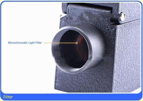 Gemological Gem Refractometer with External Monochromatic Light source Gemstone