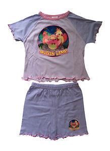 Short Pour Fille 18-24 Mois Couleur Lilas Sleepwear Capable 3rd & Bird-pyjama 2 Pièces Muffinland