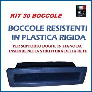 Kit30 Supporto,boccola Ricambio Per Doga ,doghe In Legno Di Faggio Per Reti Haute RéSilience